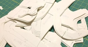 How to grade shoe pattern parts