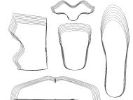 Shoe pattern grade