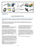 Chapter 22 : Shoe Designers Tools The Pantone™ color system Common tools of the trade