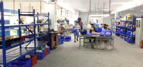 Tour a shoe factory making Women's High Heel shoes
