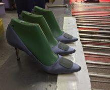 shoes factory making women's shoes Making a high heel shoe.