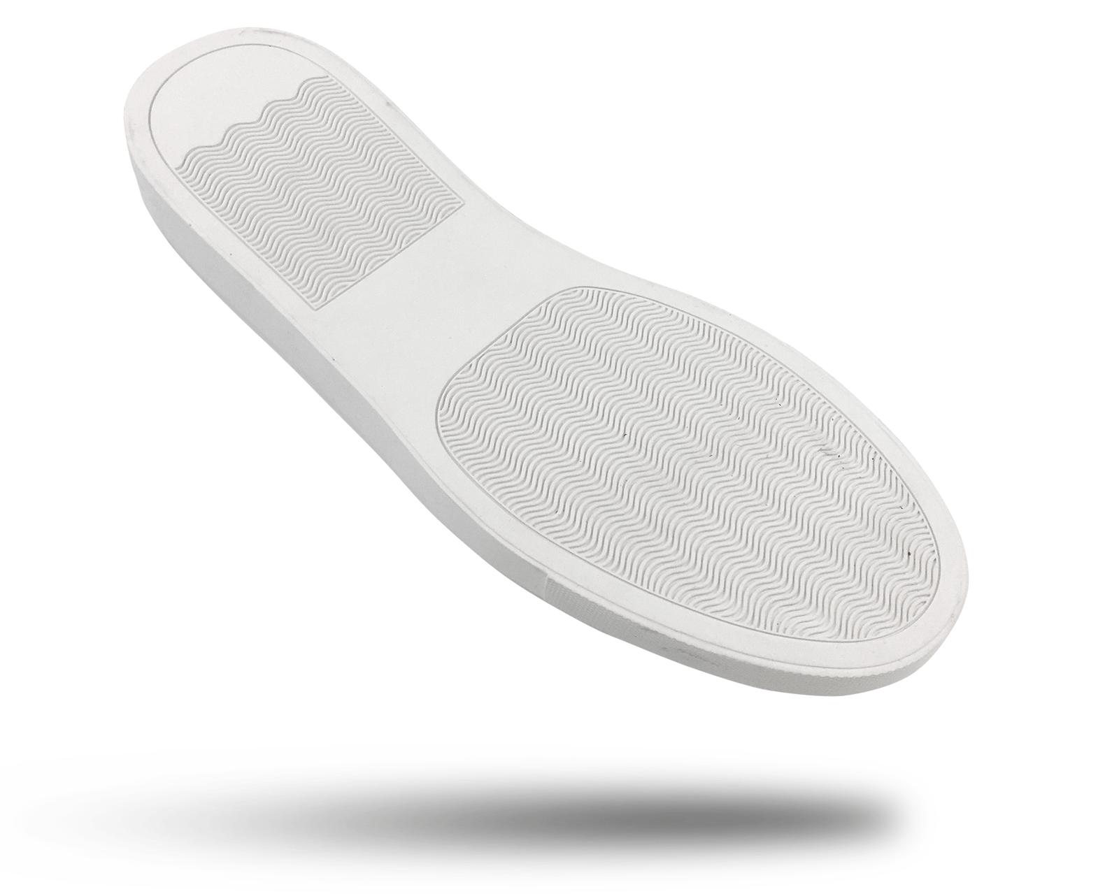 Rubber shoe outsole