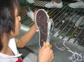 vulcanized shoe construction