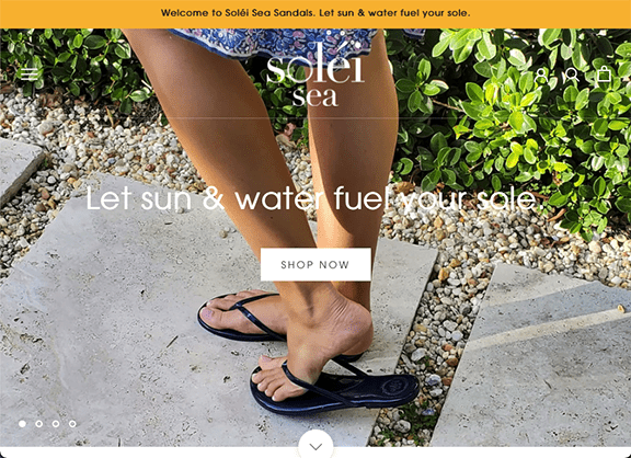 Solei Sea is a new sandal company that proves COVID-19 does not have to limit your ambitions. Solei Sea is the brainchild of four life long friends who's jobs were sidelined by the Covid crisis. Kristina, Andrea, Jamie and Ali set their minds to create this new women's owned business venture and nothing is holding them back!