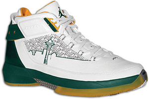 8c5d830388b Air Jordan XX2 P.E. Seattle White/Forest Green-Varsity Maize