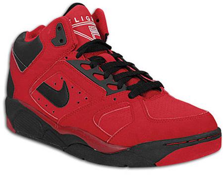 Nike Air Flight Lite Low - White/Varsity Red/Black