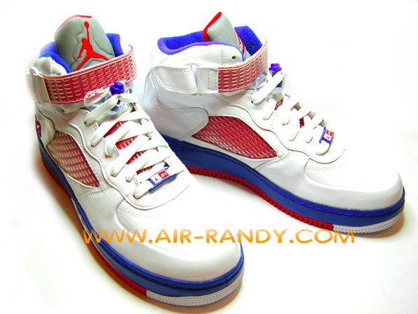 V Fusion Red Air Jordan