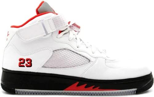 Jordan Red Air Fusion V