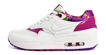Nike Womens Air Max 1 - White / Purple / Lilac / Multicolor
