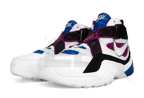 Nike Zoom Sharkalaid - White / White - Black - Varsity Royal