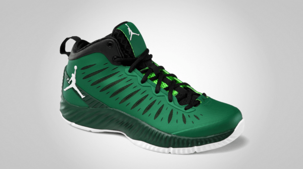 Jordan Super.Fly 'Pine Green/White-Gorge Green-Black' - Official Images