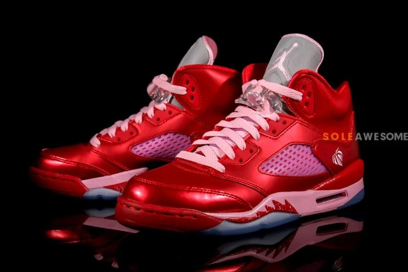 Air Jordan V 5 GS Valentines Day New Images