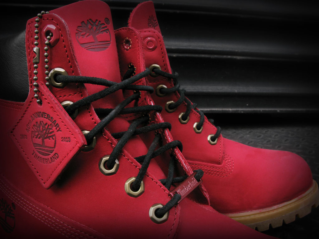 Blue And Black Timberland Boots