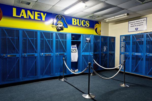 Michael Jordan Laney High School Gym SneakerFiles