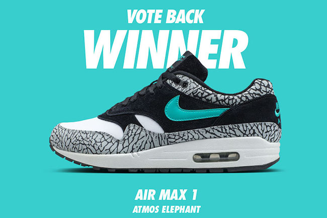 Nike Air Max 1 Atmos Elephant 2017