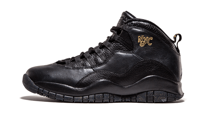 NYC Air Jordan 10 Retro de lanzamiento