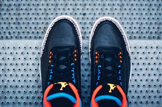 Air Jordan 3 Russell Westbrook OKC PE