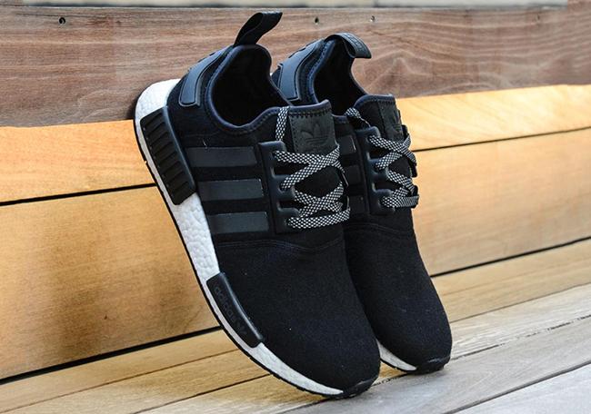 adidas NMD Wool Pack Black Grey