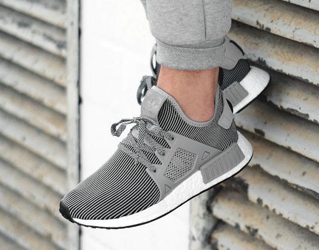 adidas NMD XR1 Primeknit Grey Olive Cargo