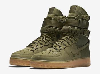 Nike SFAF1 Faded Olive