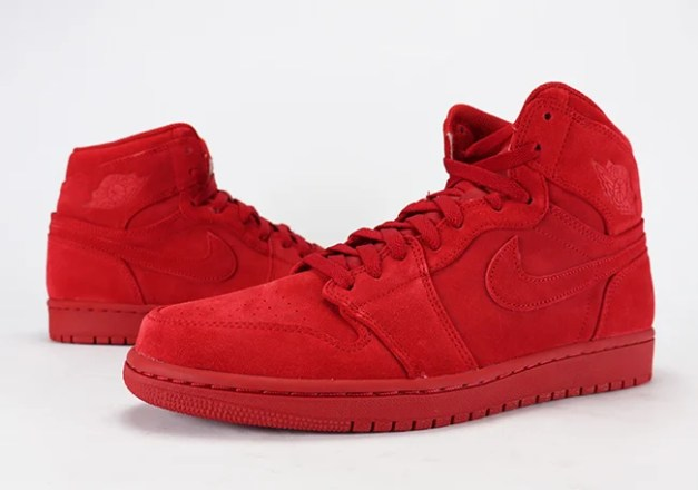 Air Jordan 1 Red Suede Review On Feet