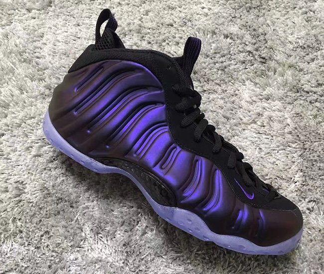 Nike Air Foamposite One Eggplant 2017 Release Date