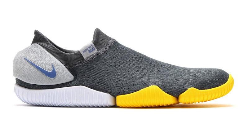 Nike Aqua Sock 360 Grey Yellow