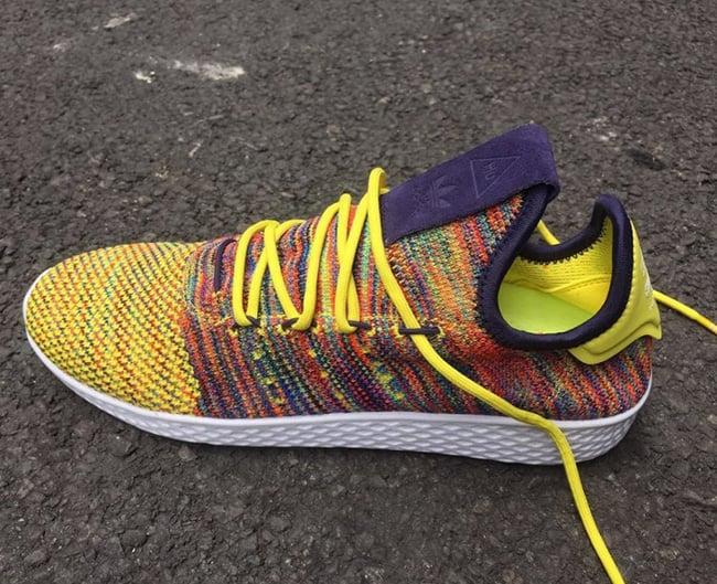Pharrell adidas Human Race Tennis Multicolor Mexican Blanket