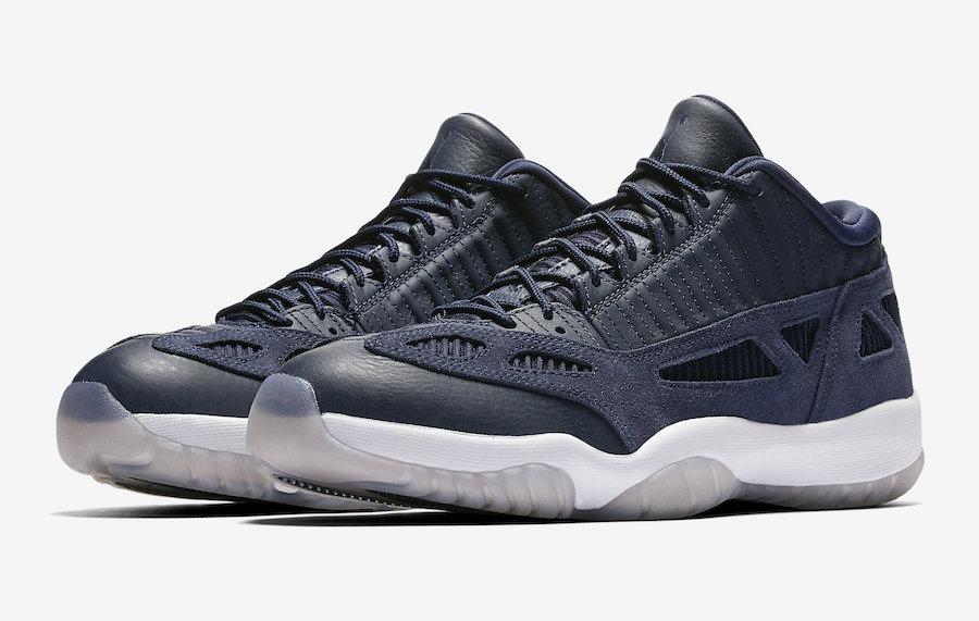 Air Jordan 11 Low IE Obsidian Release Date