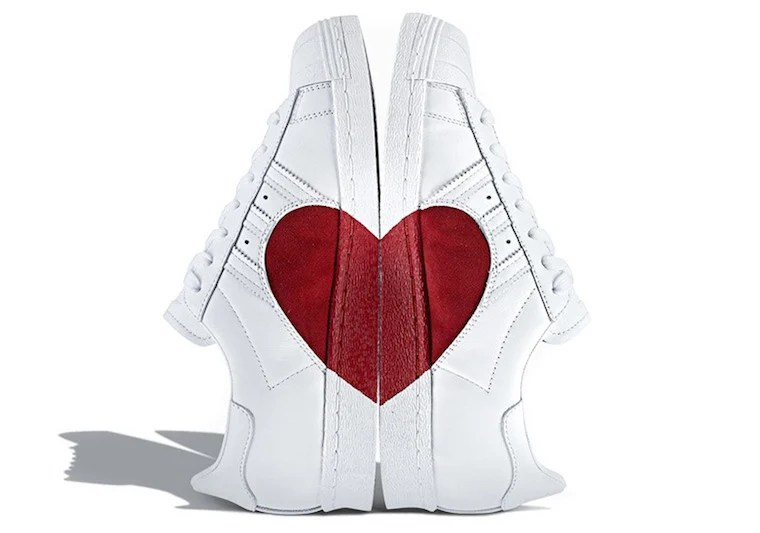 Adidas Superstar Valentines Day Heart CQ3009 SneakerFiles