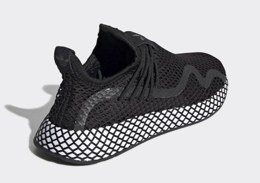 adidas Deerupt S Black White BD7879 Release Date