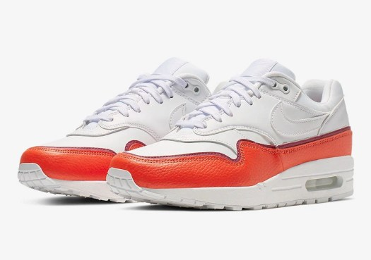 Nike Air Max 1 White Red 881101-102 Release Date