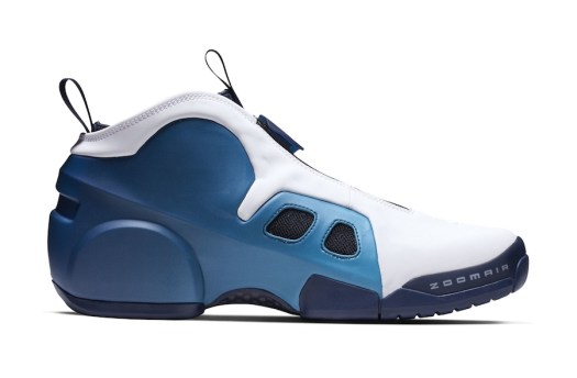 Nike Air Flightposite 2 Retro White Blue Release Date Info