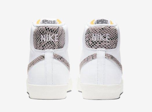 Nike Blazer Mid 77 Vintage White Snakeskin CI1176-101 Release Date Info