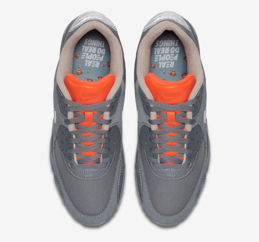 The Basement Nike Air Max 90 Grey Orange CI9111-003 Release Date