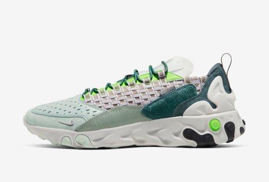 Nike React Sertu Green Pony Hair CT3442-300 Release Date Info