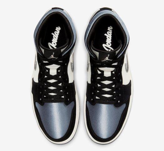 Air Jordan 1 Mid Satin 852542-011 Release Date Info