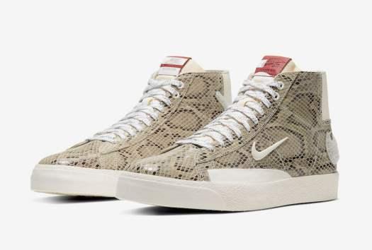 Soulland Nike SB Blazer Mid FRI.day 03 Snakeskin CN4540-001 Release Date
