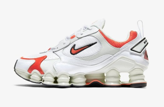 Nike Shox TL Nova White Red AT8046-101 Release Date Info
