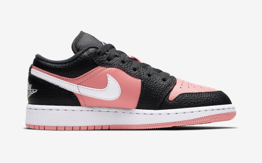 Air Jordan 1 Low GS Pink Quartz 554723-016 Release Date Info