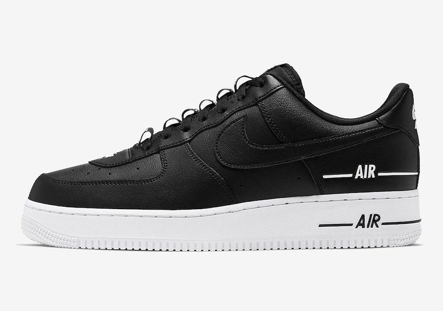 Nike Air Force 1 Low Double Air CJ1379 001 CJ1379 101 CJ1379