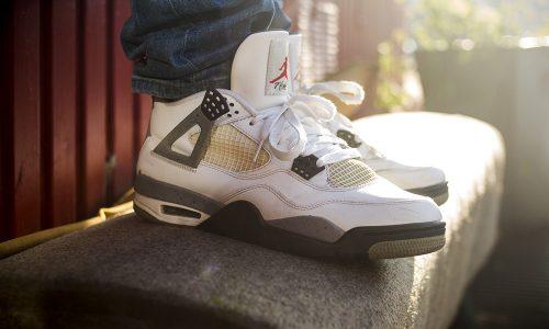 David - Jordan 4 White Cement