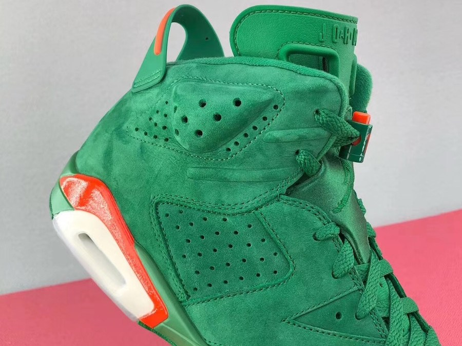 7984a628bd08f The Air Jordan 6 Gatorade Green Suede Could Be Releasing Sometime This Year!