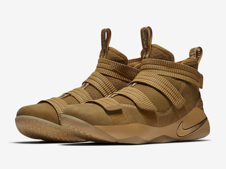 The Nike LeBron Soldier 11 Wheat Is Set To Release on October 7th!