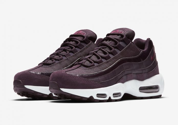 The Classic Nike Air Max 95 Will Be Releasing In Port Wine Real Soon!