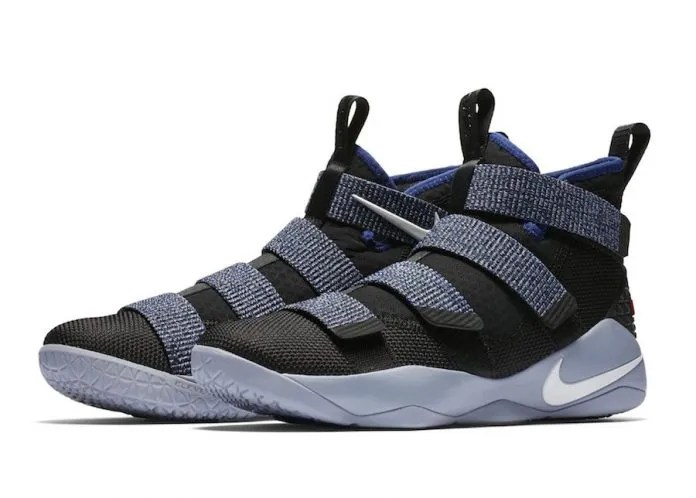 The Nike LeBron Soldier 11 Steel Releases In October!