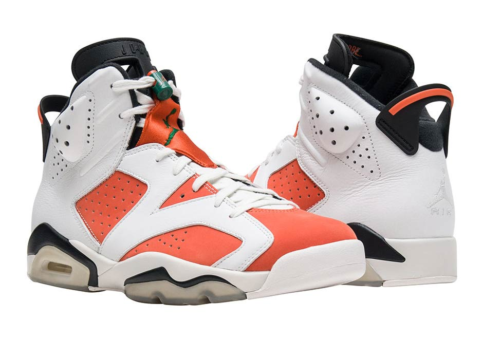 Official Images Of The Air Jordan 6 Gatorade & Release Info!