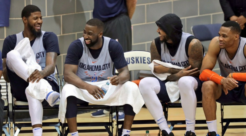 Recap: Oklahoma City Thunder 10th Annual Blue/White Scrimmage