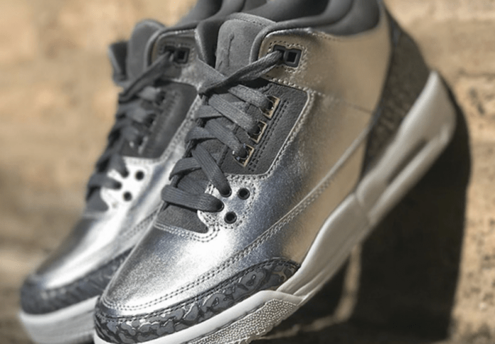 Jordan Brand Adds The Air Jordan 3 Chrome To There 2017 Holiday Heiress Collection!