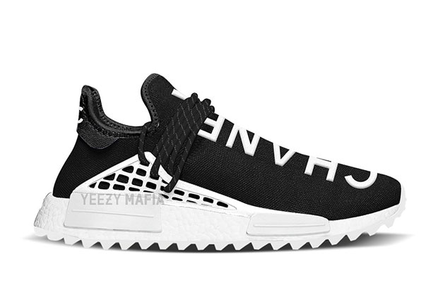 38d62cd1930c3 Looks Like A Pharrell x Chanel x Adidas NMD Human Race Collab Could Be In  The